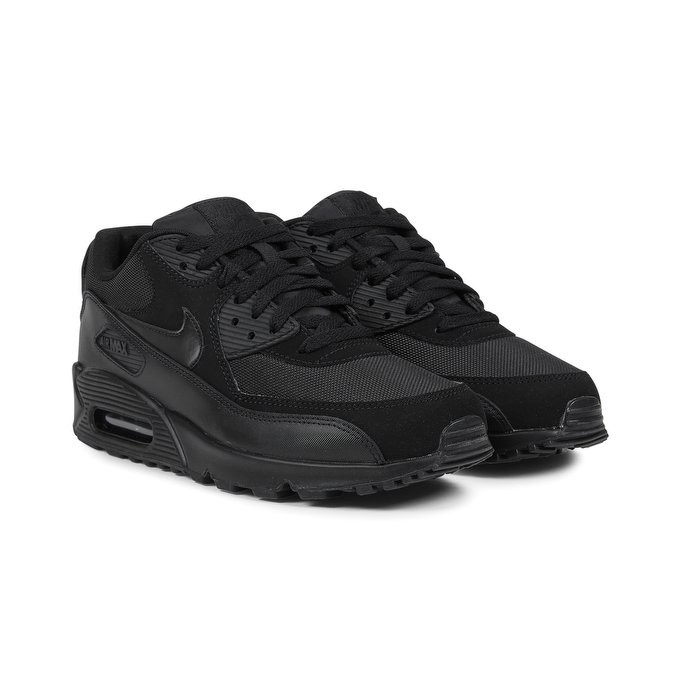 various colors ceab3 86cde ... netherlands nike air max 90 essential mens low sneakers 537384 090  black c3c71 4385b