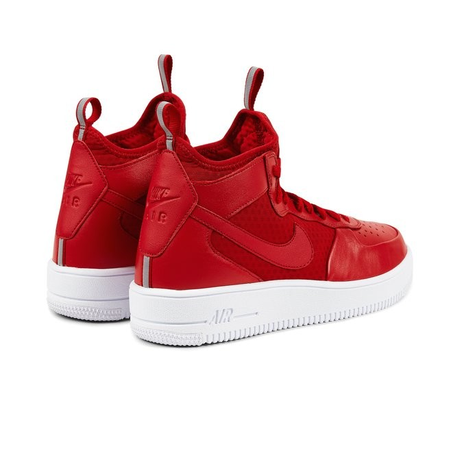 the latest ae155 d062d ... Nike Air Force 1 Ultraforce Mid Men s High Sneakers 864014-600 Red  ,White ...