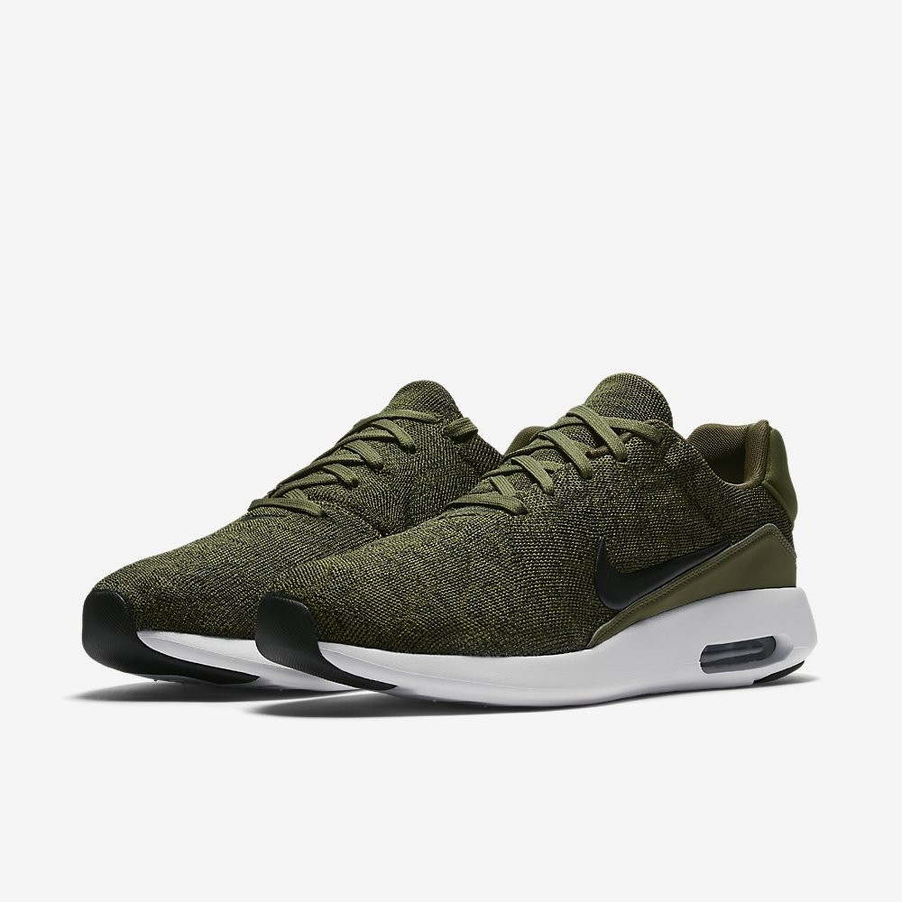 finest selection 3ba9c 7a429 Nike AIR MAX MODERN FLYKNIT 876066-300 Green ,Black ,White