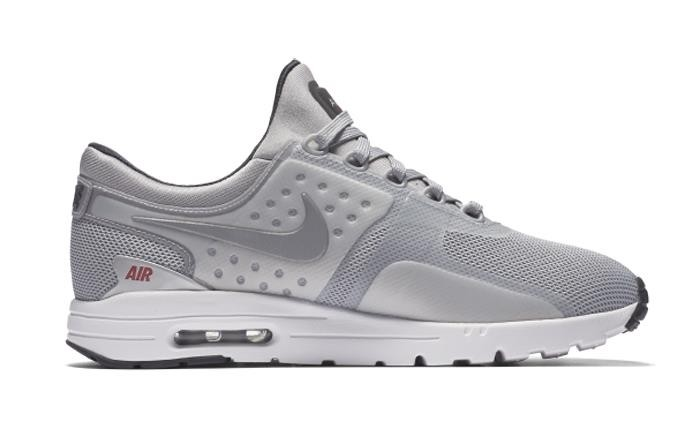 big sale 086ab 0529f Nike Women s Air Max Zero QS 863700-002 Silver