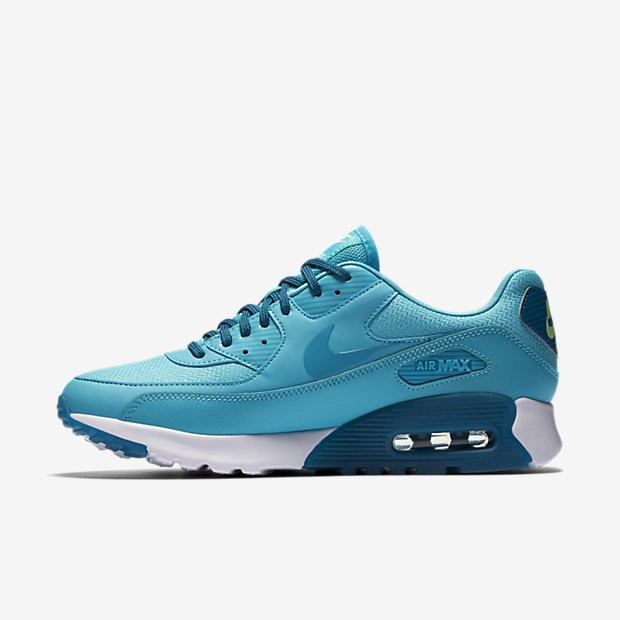 separation shoes b29f0 6096f Nike Women's Air Max 90 Ultra Essential 724981-403 Blue ,Green