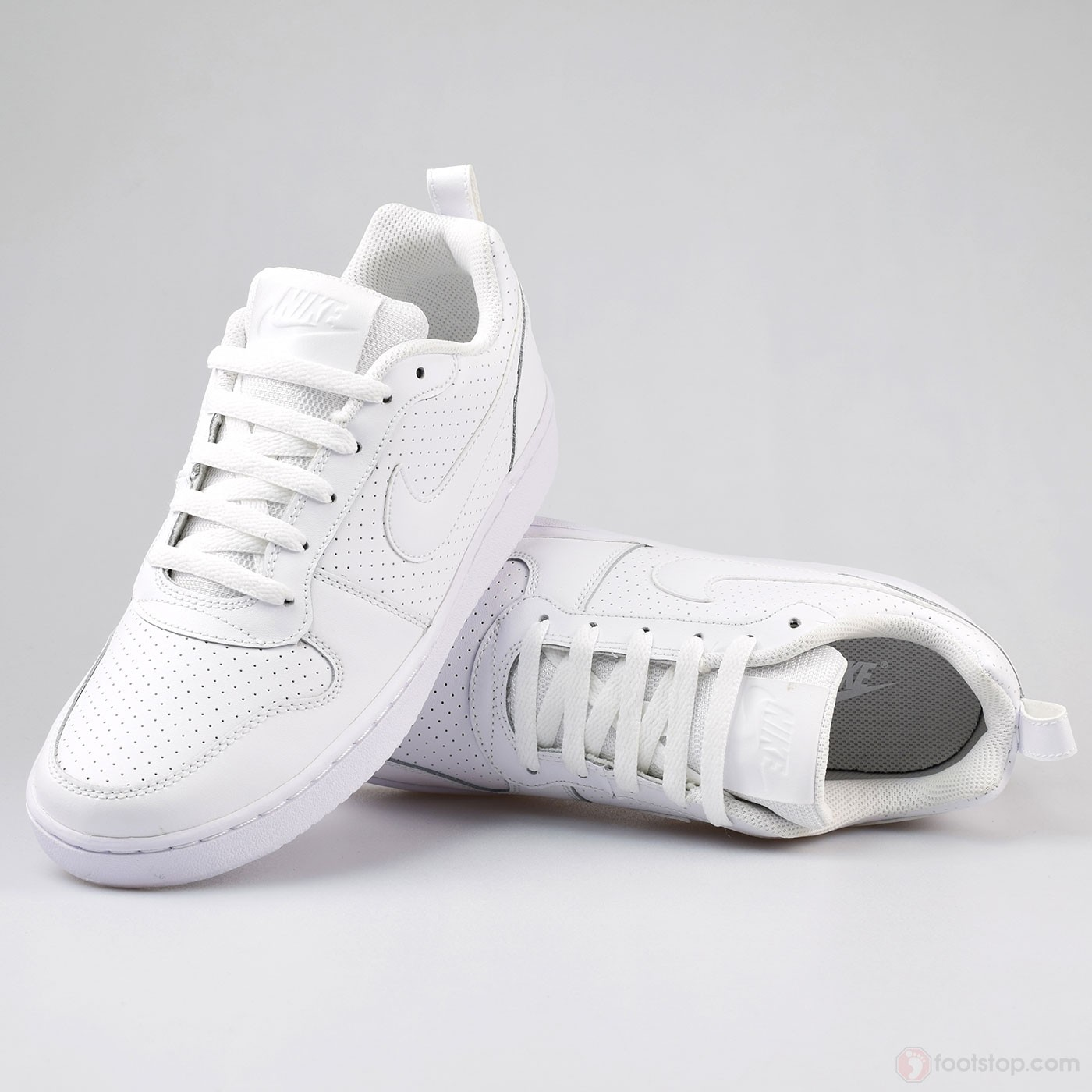 Nike Women\u0027s Court Borough Low 844905,110 White