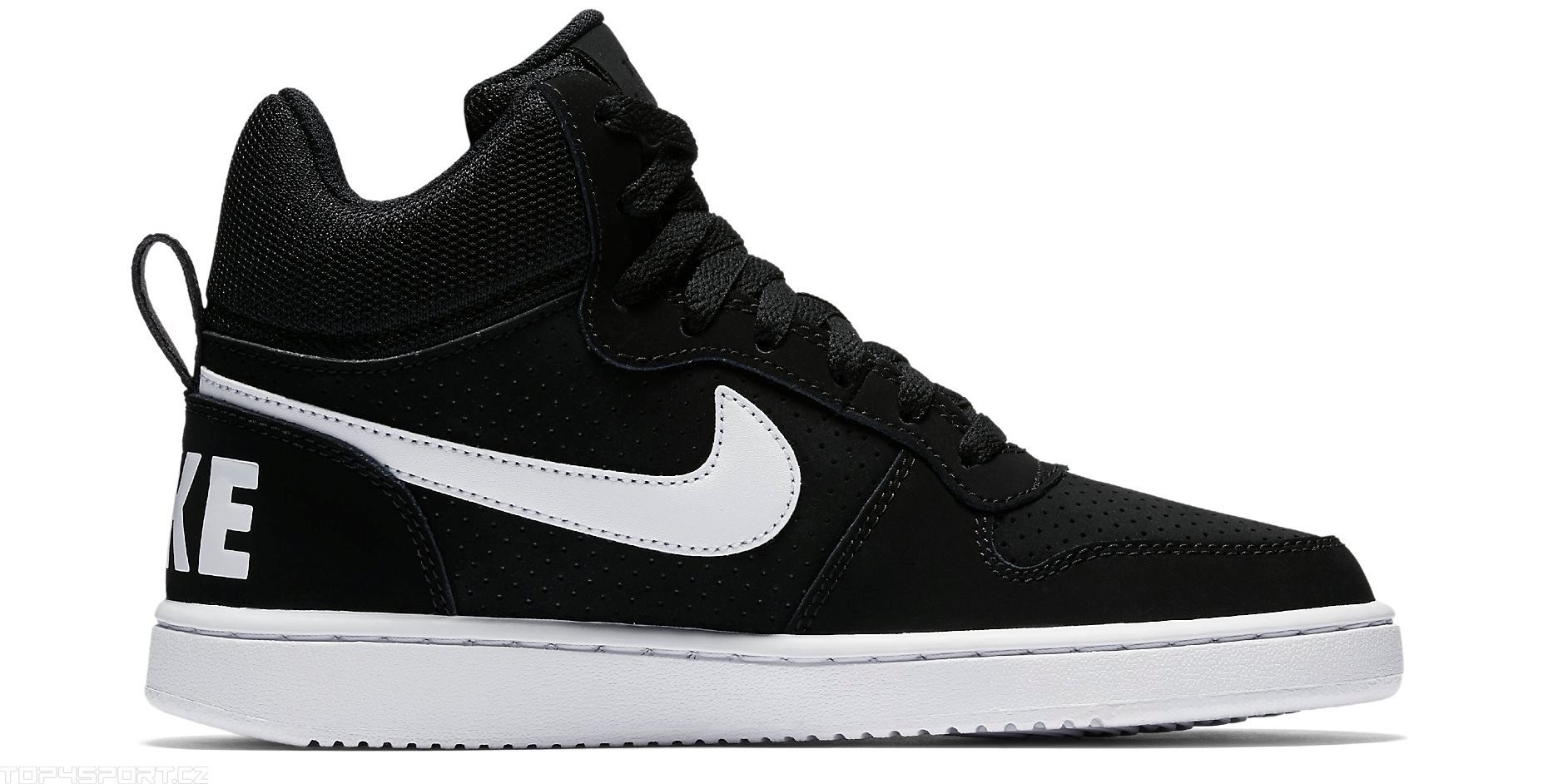 Nike Court Borough Mid Leather Sneakers