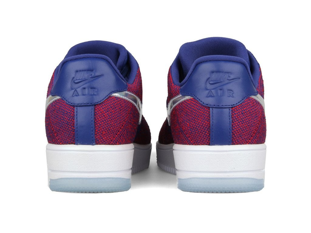 online retailer 3a773 5e79b Nike AF1 Ultra Flyknit Low Prm 826577-601 Red ,Blue ,White