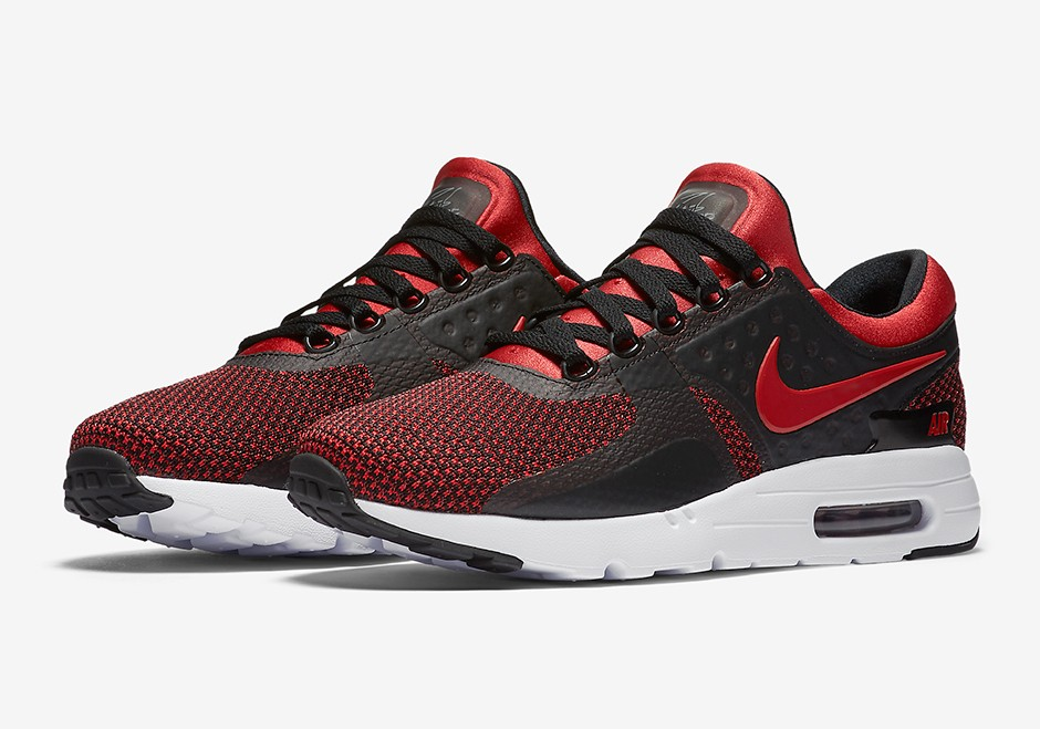 new arrivals 22c5a bb34f Nike Air Max Zero Essential 876070-600 Red ,Black