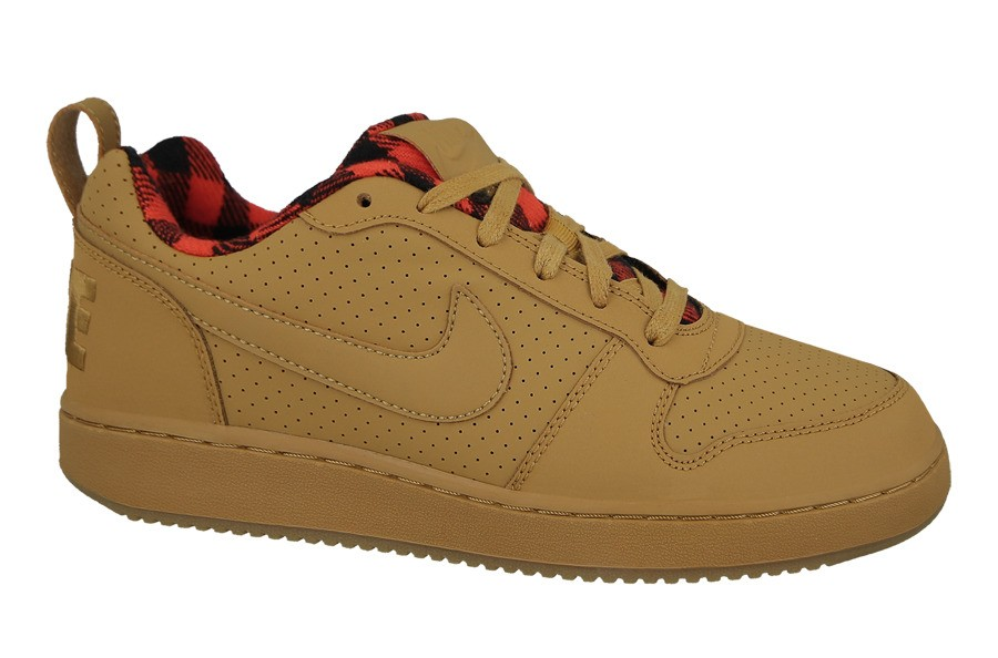 Rizado Por el contrario Chorrito  MEN'S SHOES NIKE COURT BOROUGH LOW PREMIUM 844881 700 scratchlin.com