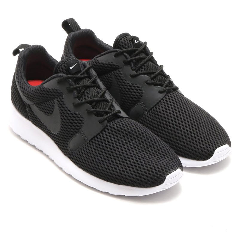 f71e9925d577 Nike Roshe One HYP BR Mens Shoes Black White 833125 001 scratchlin.com