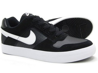 ... Nike SB Delta Force Vulc 942237-010 Black ,White ...