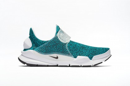 Nike SOCK DART QS 942198-300 Green ,Black ,White