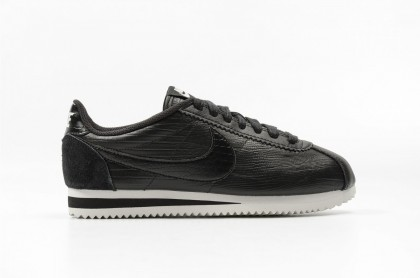 Nike Women's Classic Cortez Leather Premium 833657-005 Black