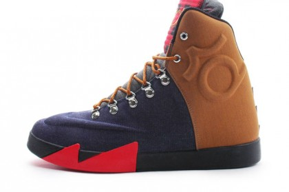 Nike KD VI NSW Lifestyle QS 621177-400 Brown ,Red