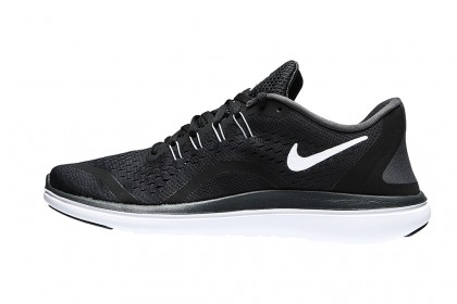 Nike Flex 2017 RN 898457-001 Black ,White ,Grey