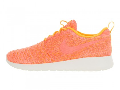 Nike Women's Roshe One Flyknit 704927-802 Orange