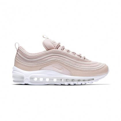 Nike WMNS Air Max 97 PRM Women's Low Sneakers 917646-600 Red ,White
