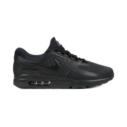 Details about NIKE AIR MAX ZERO ESSENTIAL TRIPLE BLACK MEN'S 876070 006