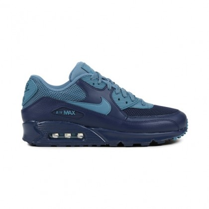 Nike Air Max 90 Essential Men's Low Sneakers 537384-420 Blue