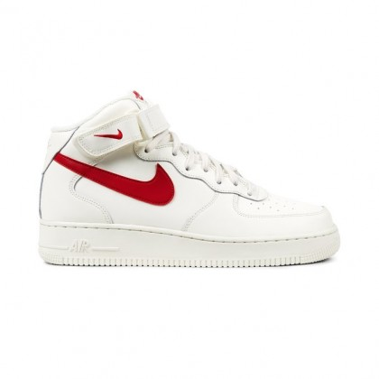Nike Air Force 1 Mid 07 Men's High Sneakers 315123-126 Red