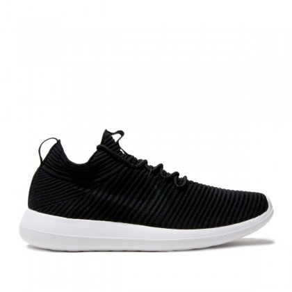 Nike Women's Roshe Two Flyknit V2 917688-001 Black ,White