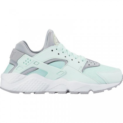 Nike Women's Air Huarache Run 634835-303 Grey ,White
