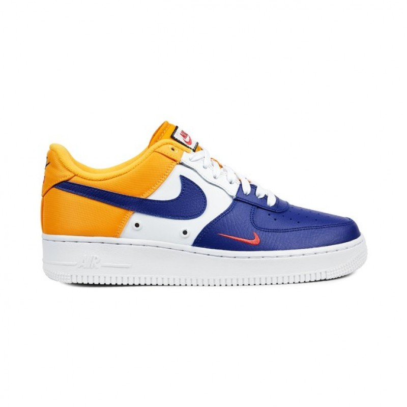 Nike Air Force 1 07 LV8 823511-404 Men's Low Sneakers  Blue