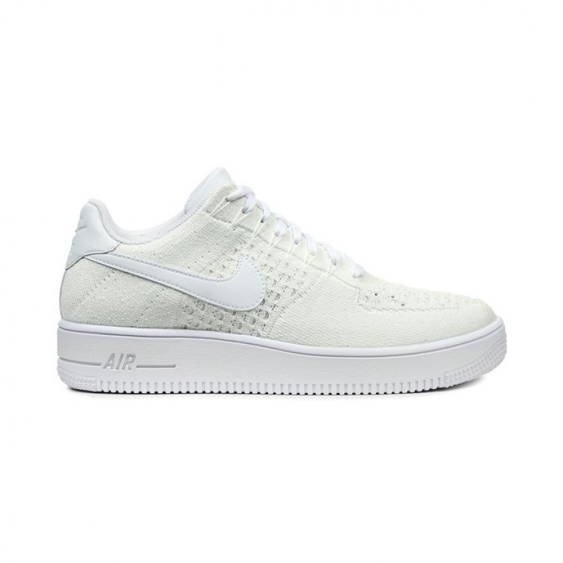 Nike Air Force 1 Ultra Flyknit Low 817419-101 Men's Low Sneakers White