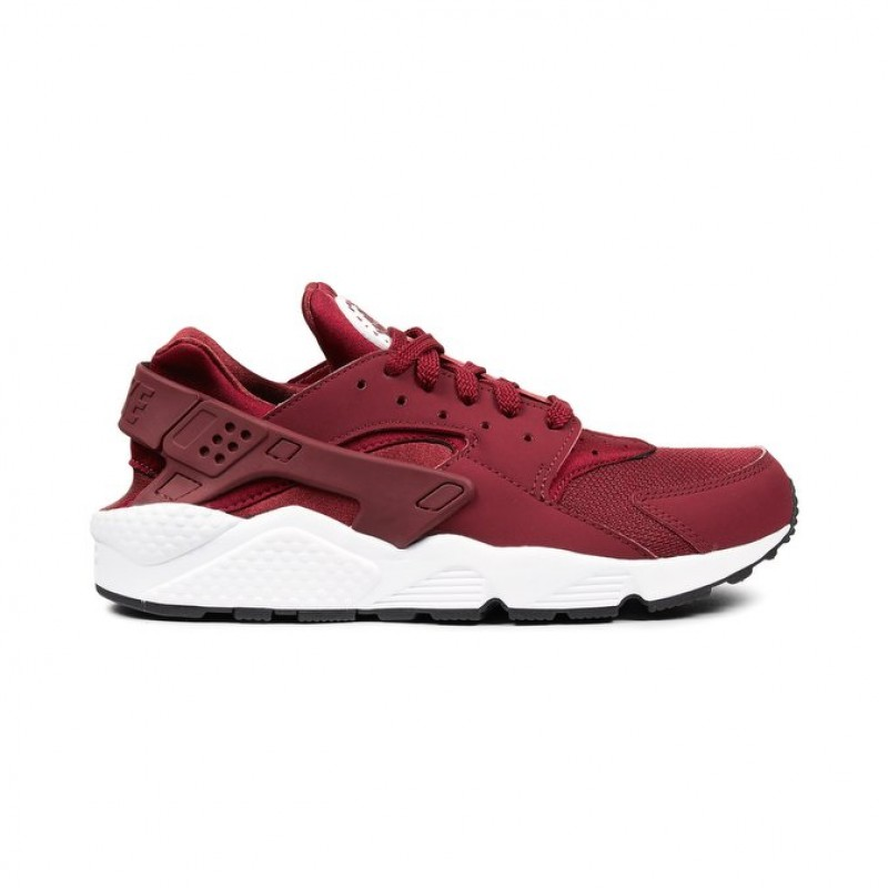 Nike Air Huarache 318429-606 Men's Low Sneakers Red ,White
