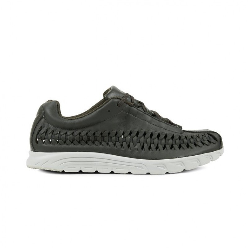 Nike Mayfly Woven Men's Low Sneakers 833132-302 Grey ,Black