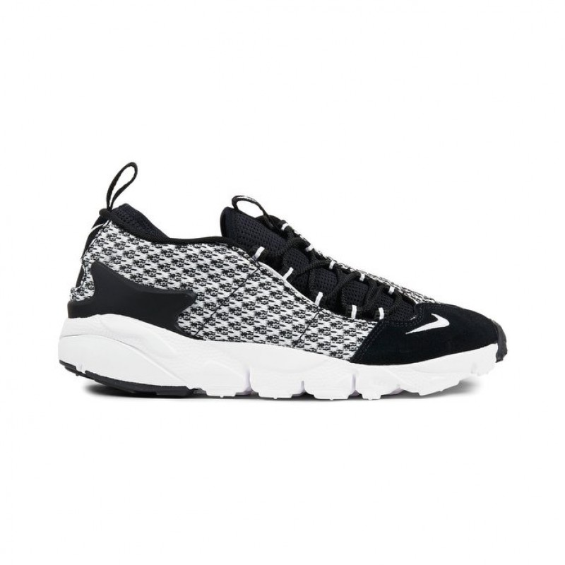 Nike Air Footscape NM JCRD Men's Low Sneakers 898007-001 Black ,White
