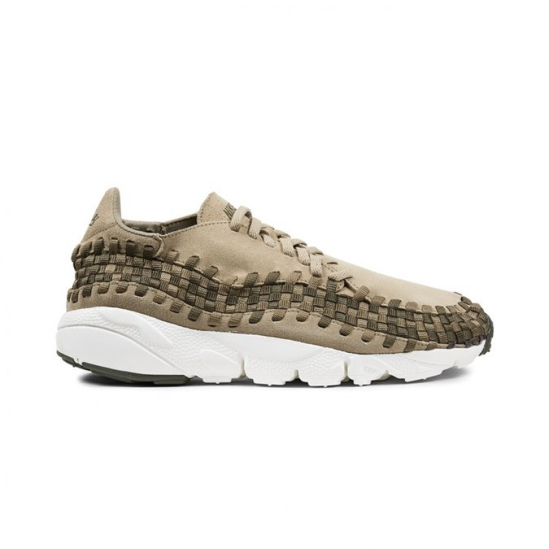 Nike Air Footscape Woven NM Men's Low Sneakers 875797-200 Khaki