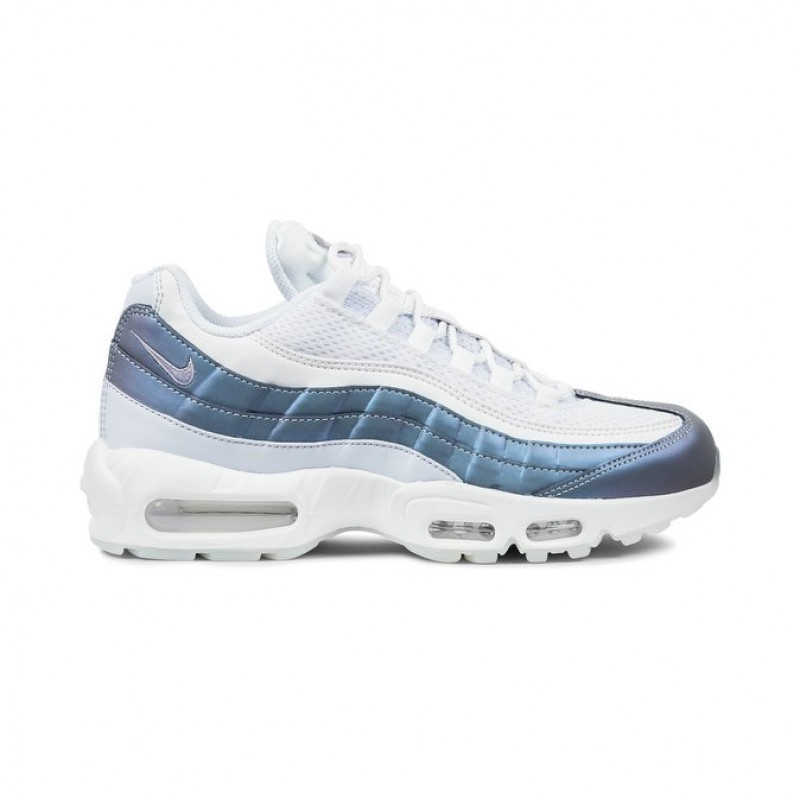 Nike Air Max 95 Premium Men's Low Sneakers 538416-401 Blue ,Purple