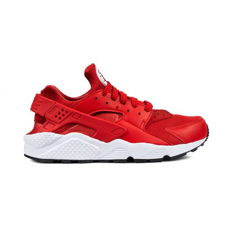 Nike Air Huarache Men's Low Sneakers 318429-604 Red
