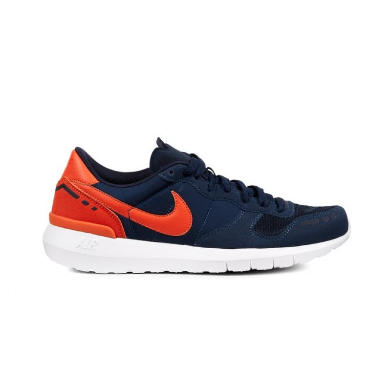 Nike Air Vortex 17 Men's Low Sneakers 876135-401 Orange ,White