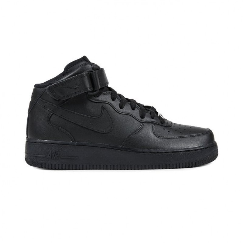 Nike Air Force 1 Mid 07 Men's High Sneakers 315123-001 Black