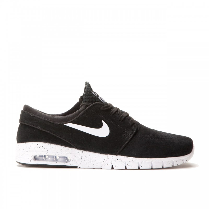 Nike SB Stefan Janoski Max Leather 685299-002 Black , White