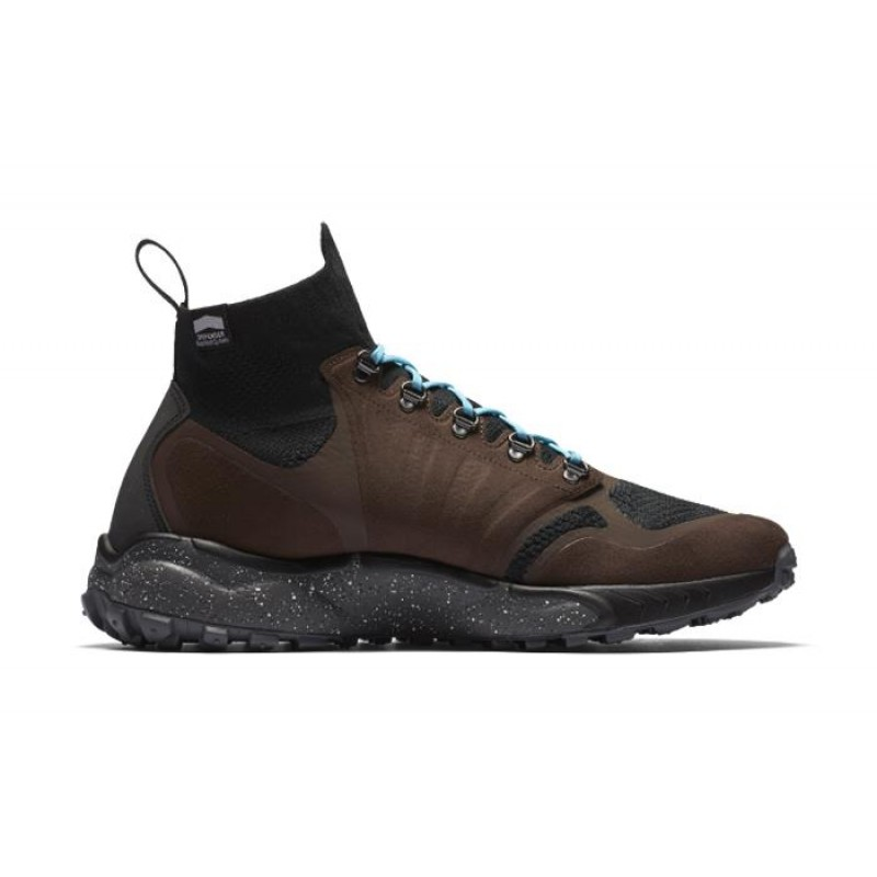 Nike Zoom Talaria Mid Flyknit Men's High Sneakers 856957-200 Brown