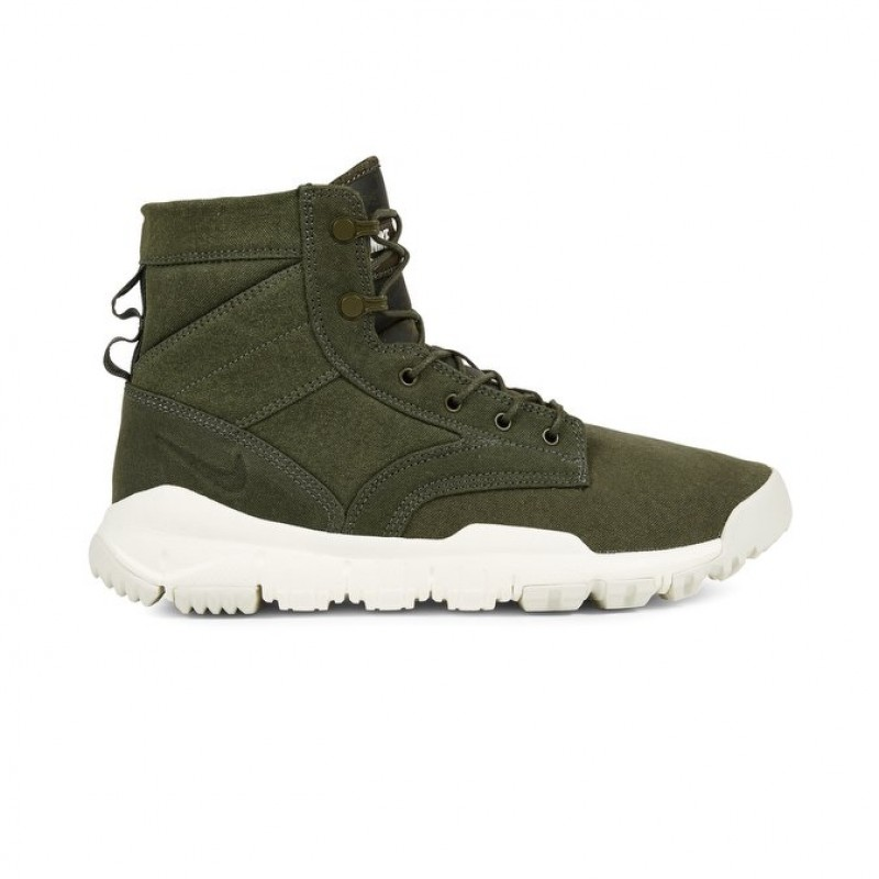 "Nike SFB 6"" Canvas NSW Men's High Sneakers 844577-300 Khaki"
