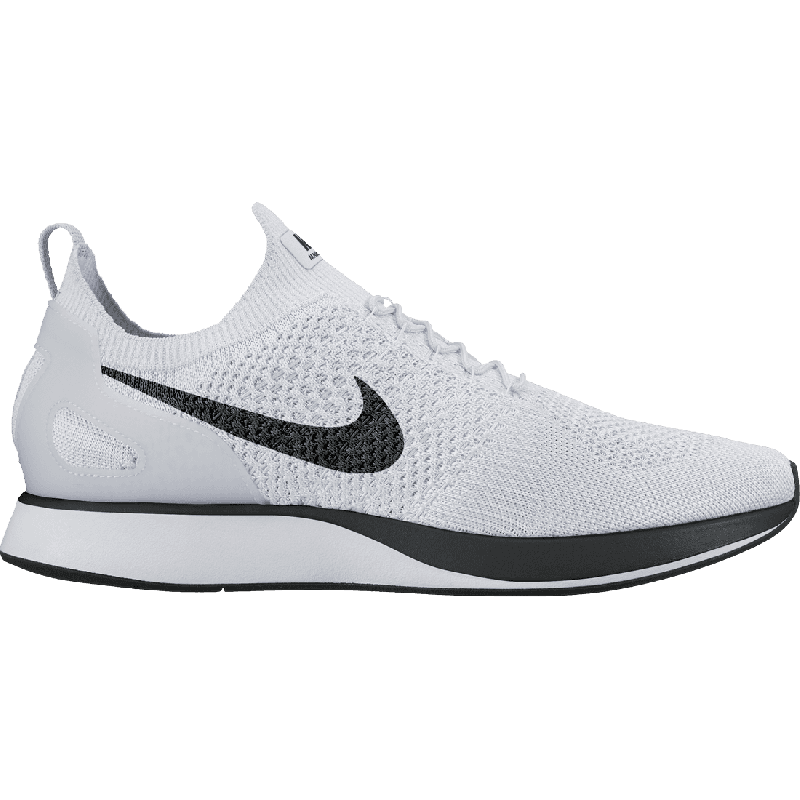 Nike AIR ZOOM MARIAH FLYKNIT RACER 918264-002 White ,Black