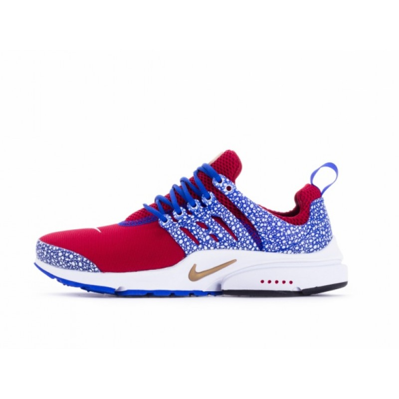 Nike AIR PRESTO QS 886043-600 Red ,Blue ,White