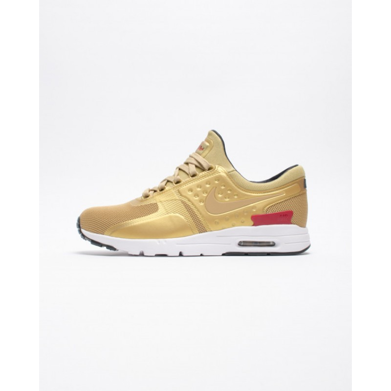 Nike W NIKE AIR MAX ZERO QS 863700-700 Gold ,Red