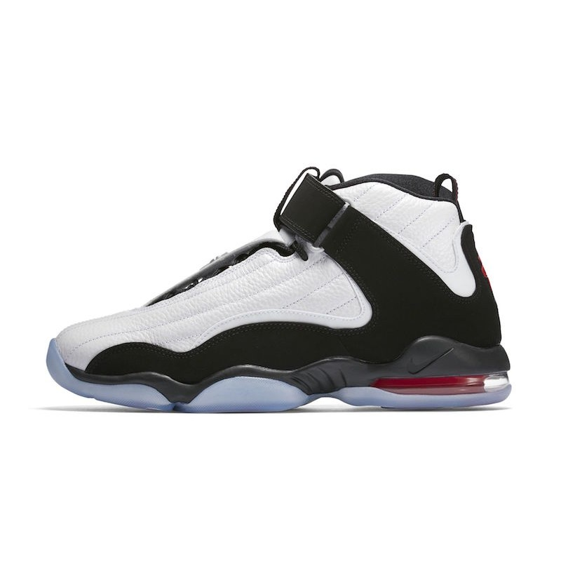 Nike AIR PENNY IV 864018-101 White ,Black ,Red