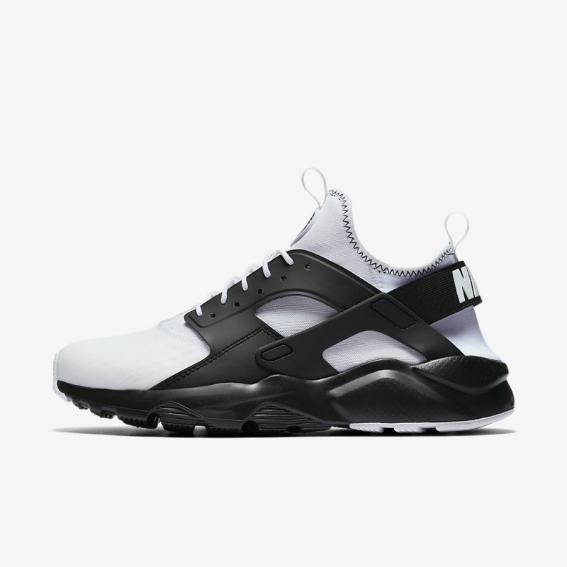 Nike AIR HUARACHE RUN ULTRA SE 875841-100 White ,Black