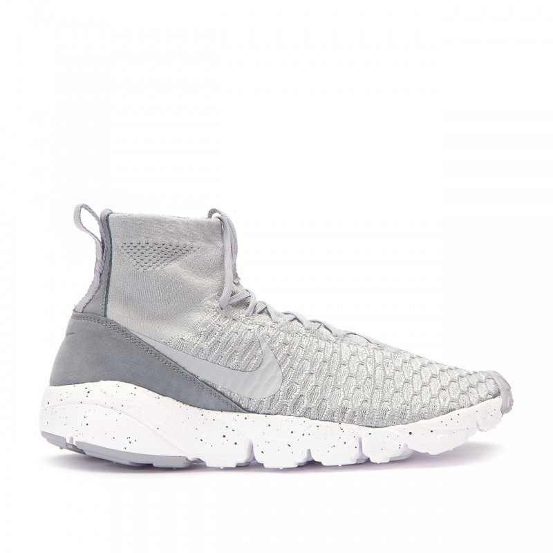 Nike AIR FOOTSCAPE MAGISTA FLYKNIT 816560-005 Grey ,Orange