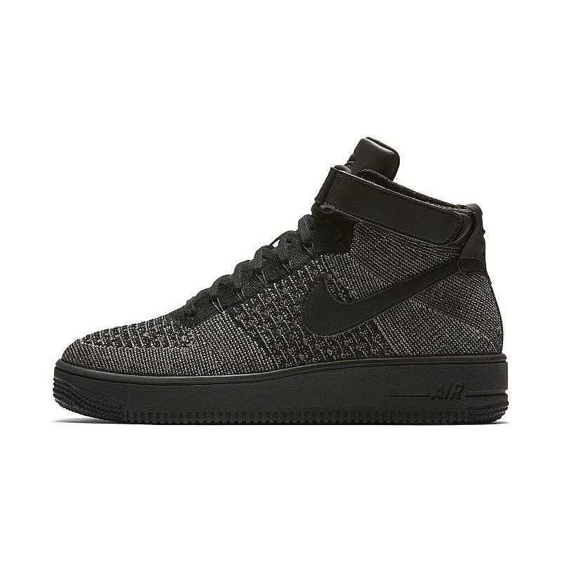 Nike AF1 ULTRA FLYKNIT MID 817420-301 Green ,Black ,White