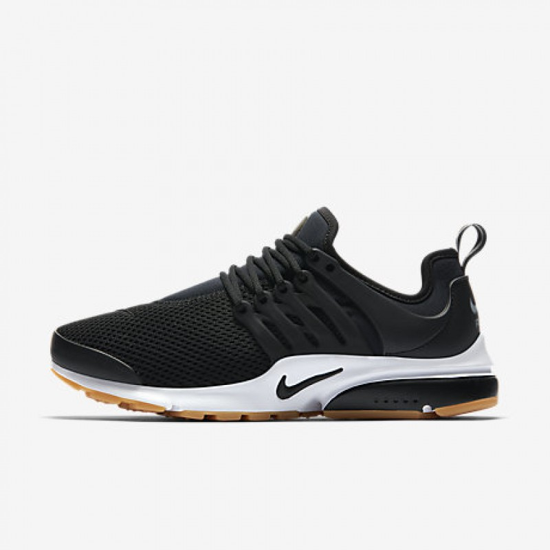 Nike Women's Air Presto 878068-005 Black ,White ,Yellow