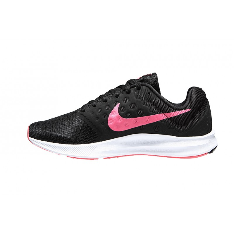 Nike Women's Downshifter 7 852466-008 Black ,Pink ,White