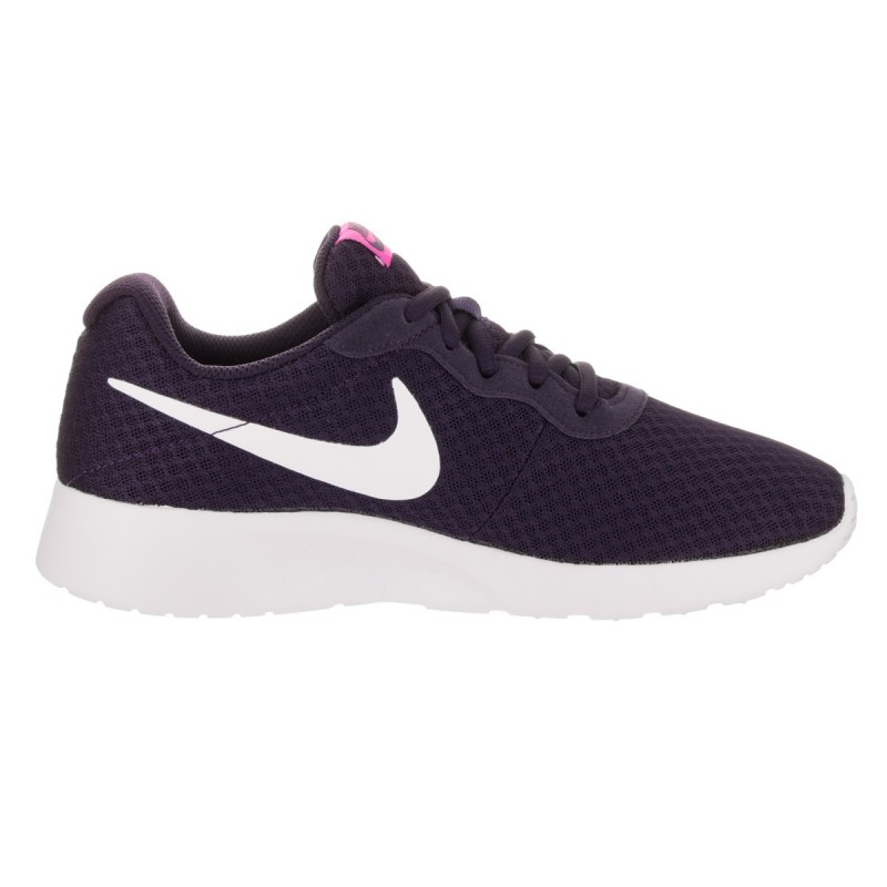 Nike Women's Tanjun 812655-501 Purple ,White ,Pink