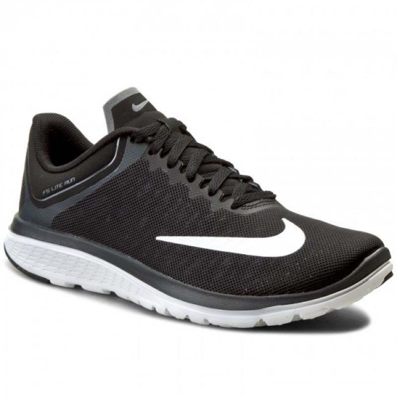 Nike Women's FS Lite Run 4 852448-003 Black ,White ,Grey