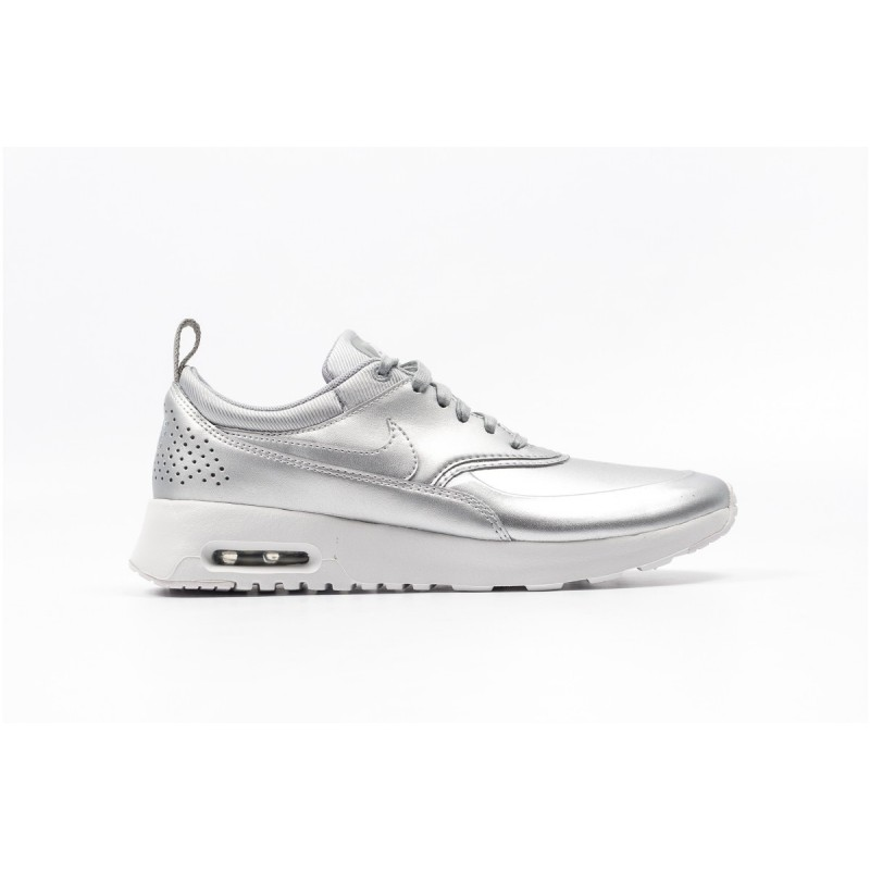 Nike Women's Air Max Thea SE 861674-001 Silver ,White