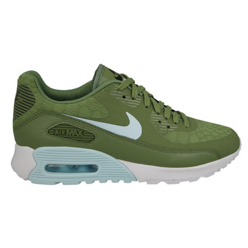 Nike Women's Air Max 90 Ultra 2.0 881106-300 Green ,Blue ,White ,Black