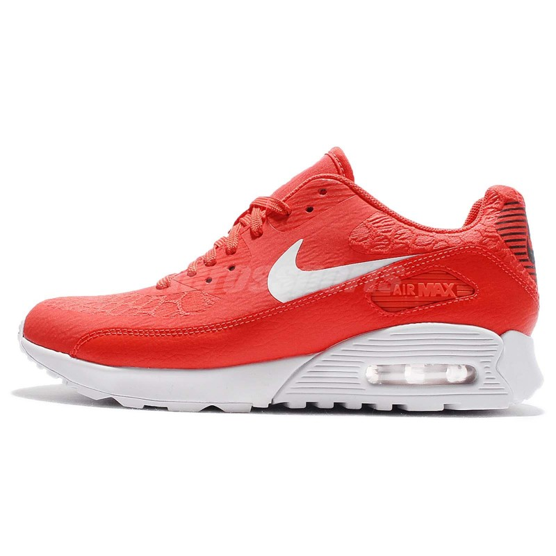 Nike Women's Air Max 90 Ultra 2.0 881106-800 Orange ,White ,Black